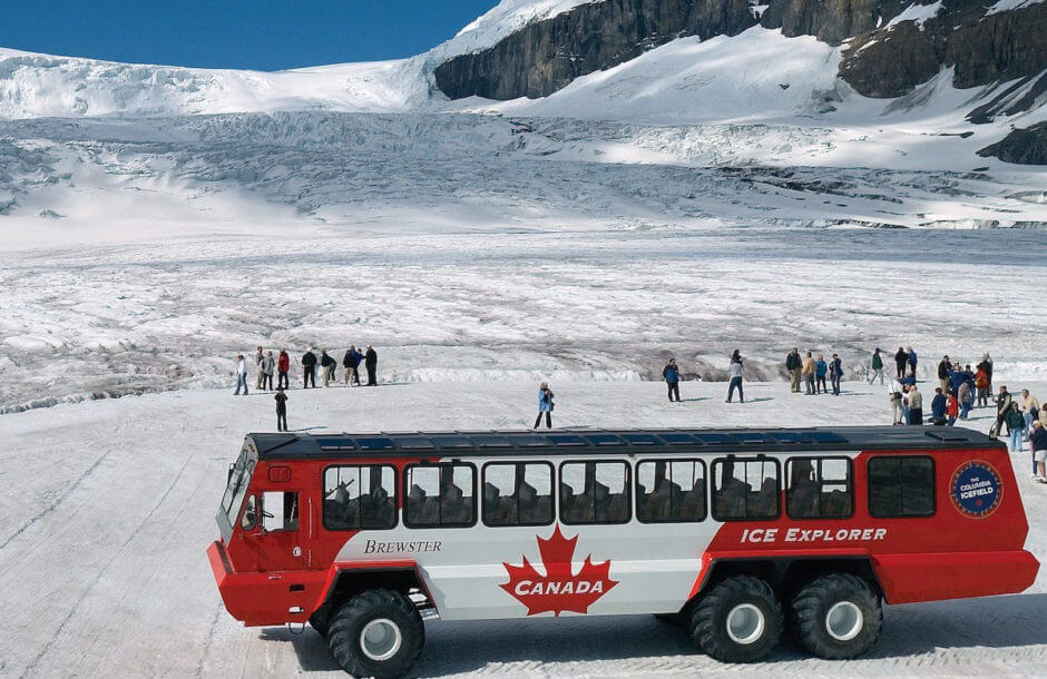 Columbia Icefield Adventure, Icefield Parkway