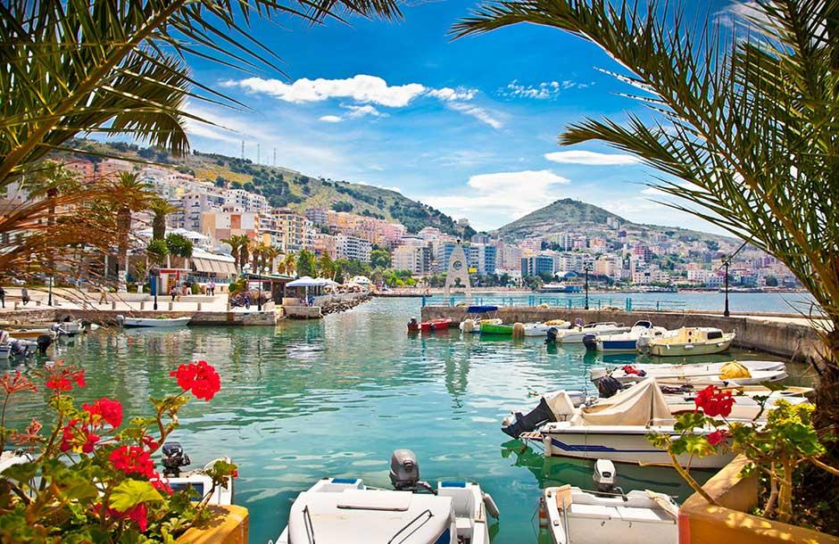 Kryssning Adriatiska havet
