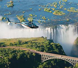 Botswana och Victoriafallen camping