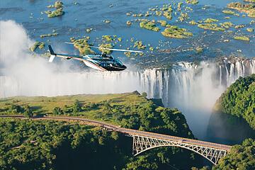 Botswana – Victoriafallen