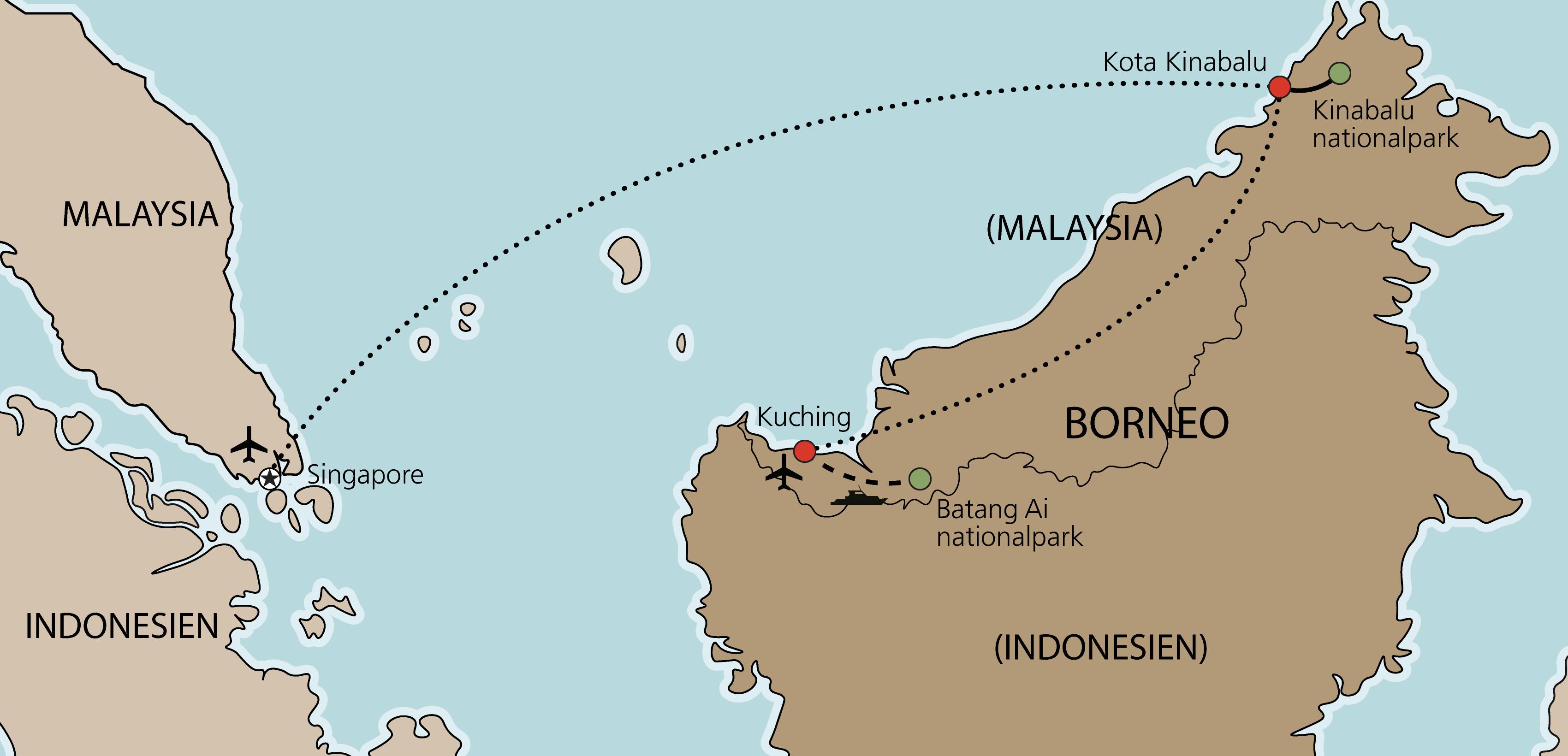 Karta Borneo