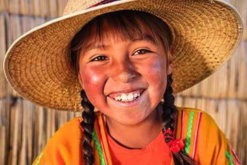 Ankomst till Peru