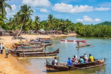 Kryssning på Indiska Oceanen
