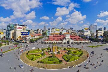 Ho Chi Minh - Cu chi tunnlarna