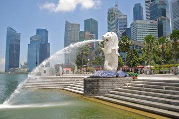 Stadsrundtur i Singapore