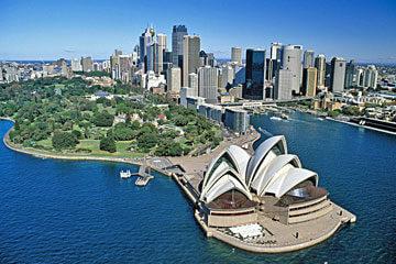 Ledig dag i Sydney