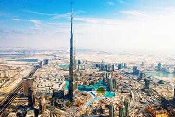 Dubai - Stadsrundtur