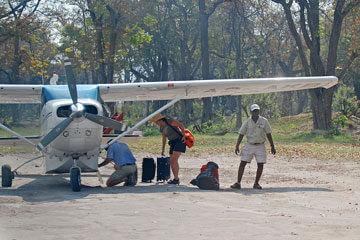 Ankomst Botswana – Okavangodeltat
