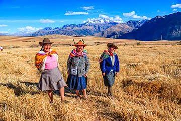 Inkas heliga dalgång – Pisac