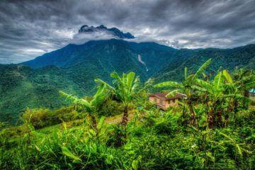 Ankomst Borneo - Kota Kinabalu stadsrundtur