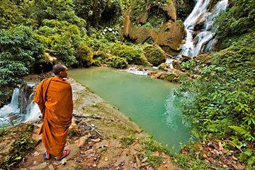 Luang Prabang – munkar och landsbygd