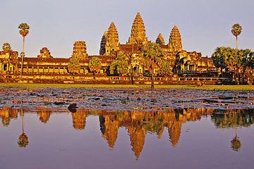 Flyg till Siam Reap - Angkor