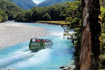 Flodsafari i Jetboat - Queenstown