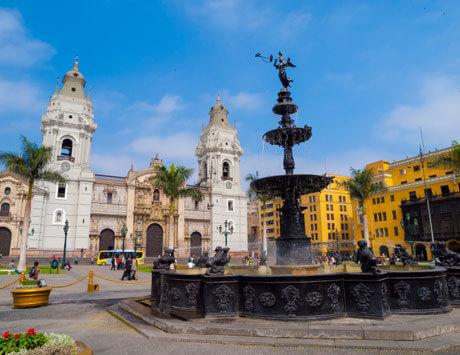 Lima stadsrundtur