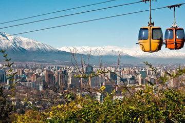 Lima – flyg till Santiago de Chile