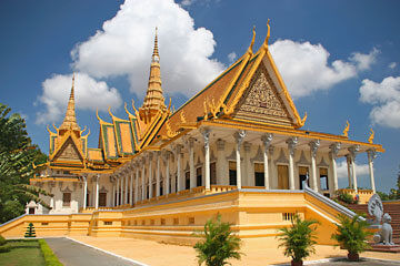Siam Reap till Phnom Penh