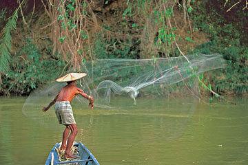 Batang Ai - Besök hos Ibanfolket i långhus