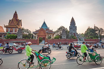 Phnom Penh nutidshistoria