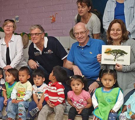 Thabela Travel stödjer ett barnhem i Ecuador. Läs mer »