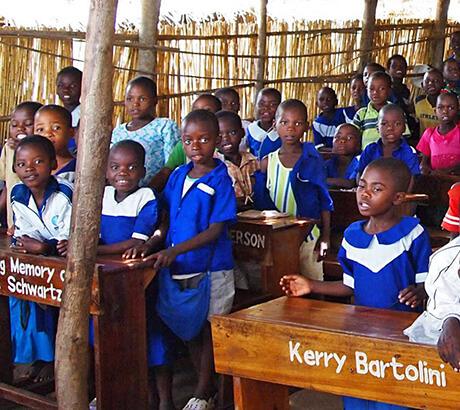 Thabela Travel stödjer skola i Malawi