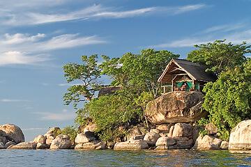 Liwonde nationalpark – Malawisjön