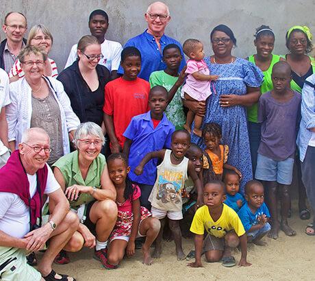 Thabela Travel stödjer barnhem i Namibia