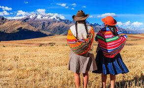 Resor till inkariket i Peru.