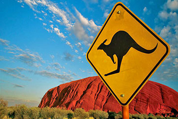 Stadsrundtur i Alice Springs