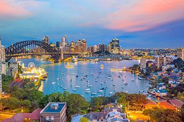 Flyg till Sydney