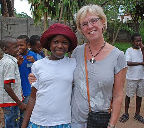 Thabela Travel hjälper föräldralösa barn i Zimbabwe