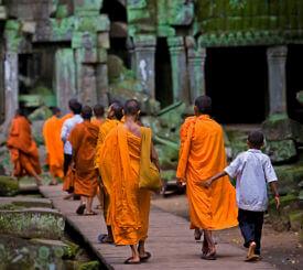 Laos, Kambodja och Vietnam