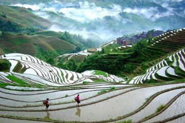 Sagolik natur i Guilin