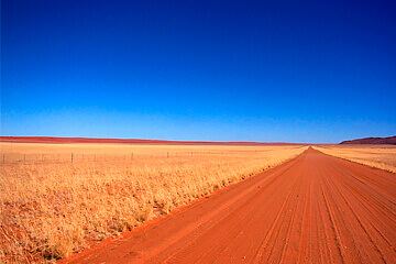 Ankomst Namiböknen