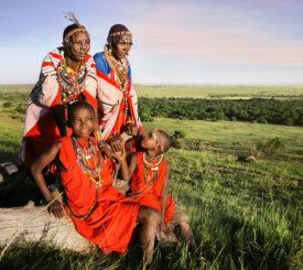 Kenya safari med Masai Mara
