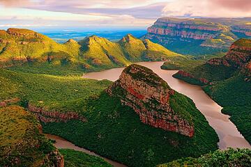 Panoramarutten mot Krugerparken