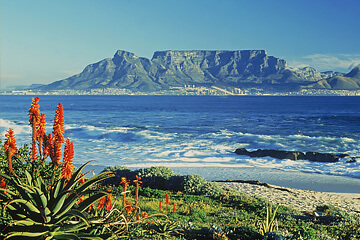 Ankomst Sydafrika
