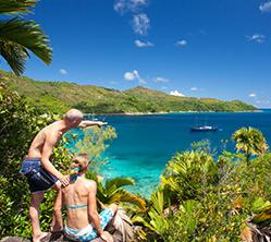 Seychellerna med segelbåt