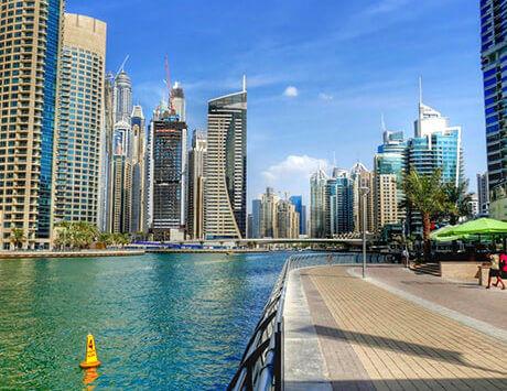 Dag 1 Ankomst Dubai