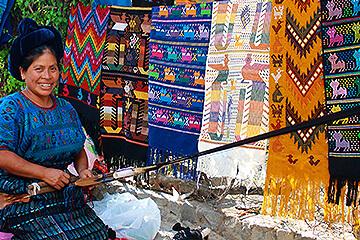 Indianmarknaden Chichicastenango
