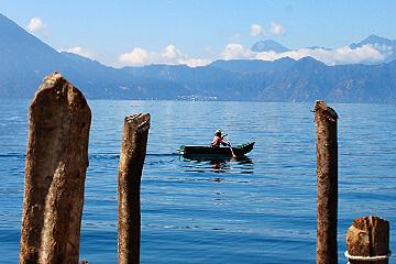 Båttur på Lago Atitlán med besök hos indianbyar