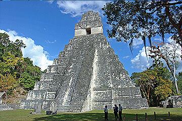 Mayaruinerna Tikal