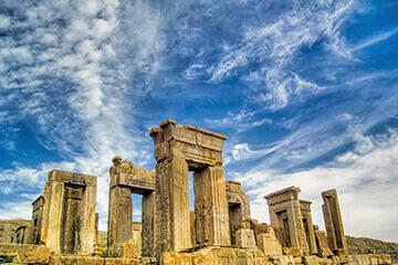 Persepolis och Shiraz