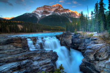 Icefield Parkway and Athabasca