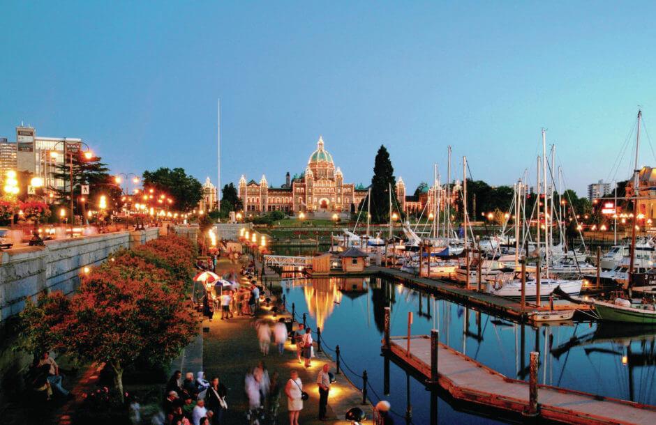 Vancouver Island och Victoria