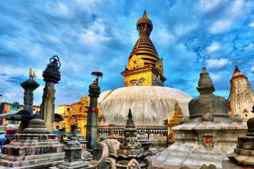Katmandu - Rundtur - Swayambhunath