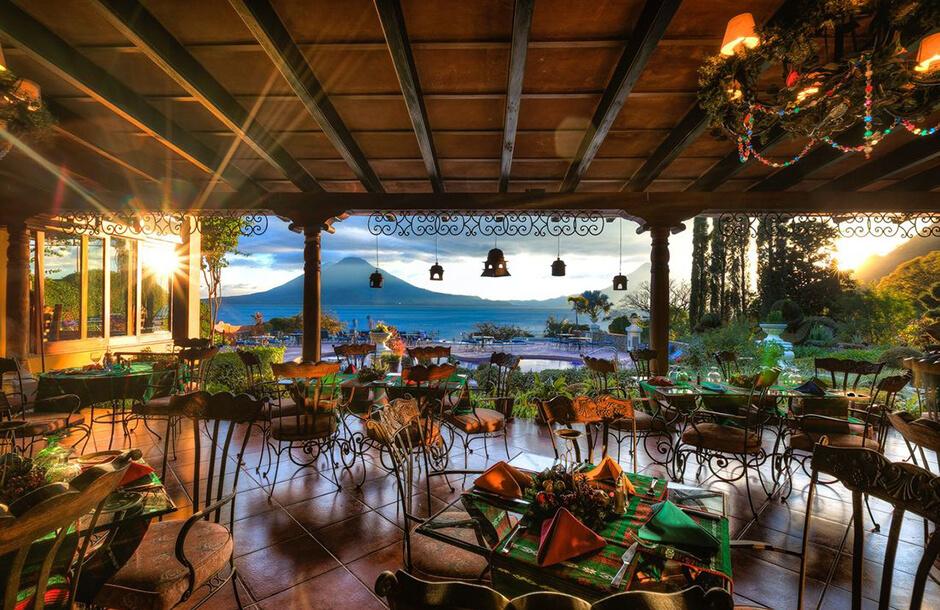 Hotel Atitlan restaurang