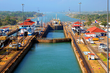 Panamakanalen och gamla stan