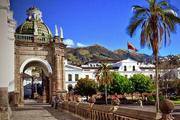 Stadsrundtur i Quito