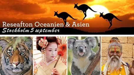 Reseafton Oceanien och Asien, Stockholm 5 september