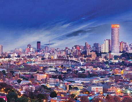 Dag 1: Johannesburg